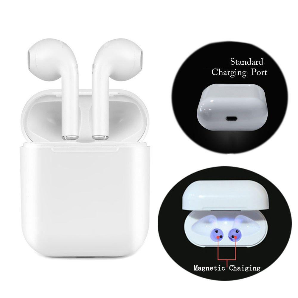 Écouteurs sans fil sport chargeur magnétique boîte écouteurs I9 TWS 5.0 Bluetooth écouteurs mise à niveau casque stéréo bluetooth écouteurs