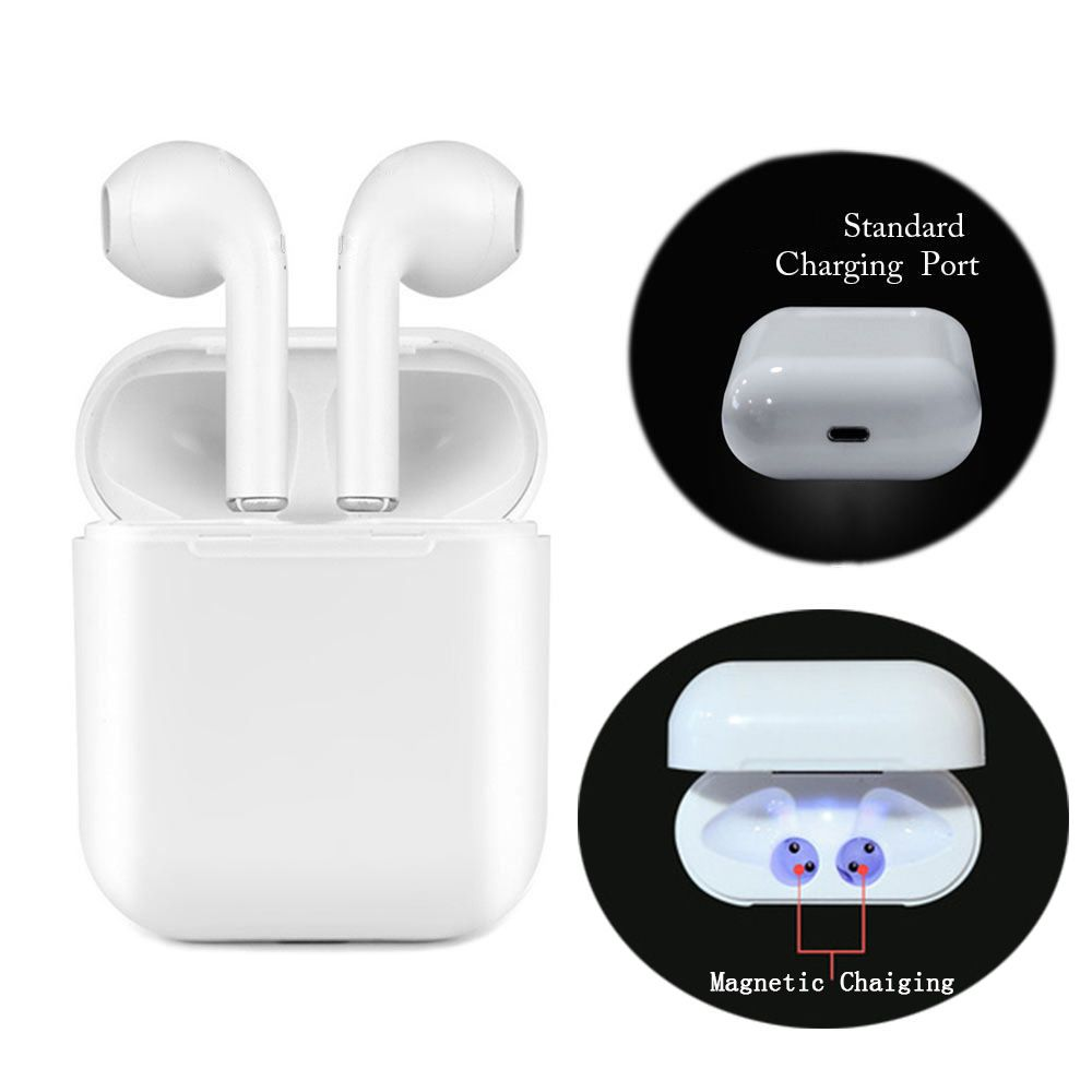 Wireless Earphone sport Magnetic Charger Box Earbuds I9 TWS 5.0 Bluetooth Earphones Upgrade Headphone Stereo bluetooth Earbuds