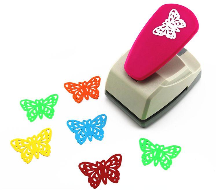 Livraison gratuite 33 cm papillon poinçons édition limitée grand artisanat poinçons perforatrice décorative très belle perforateur