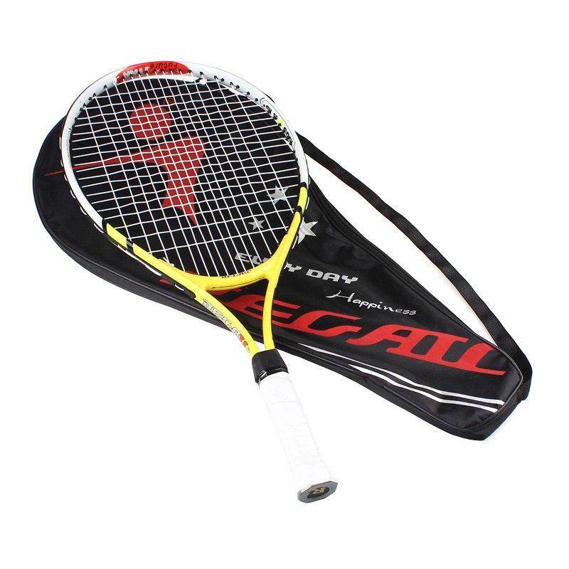 Haute qualité 1x nouvelle Raquette de Tennis Junior Raquette d'entraînement pour enfants jeunes raquettes de Tennis pour enfants avec sac de transport chaud