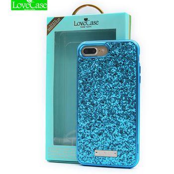 Lovcase блестящая поверхность для iPhone 6 7 мобильного телефона чехол для iPhone 7 8 Plus для IPhone X ультра тонкий матовый чехол для телефона Coque