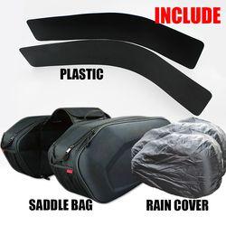2018 SA212 motocicleta impermeable alforjas Racing moto casco bolsas viaje alforjas + un par lluvia y plásticos