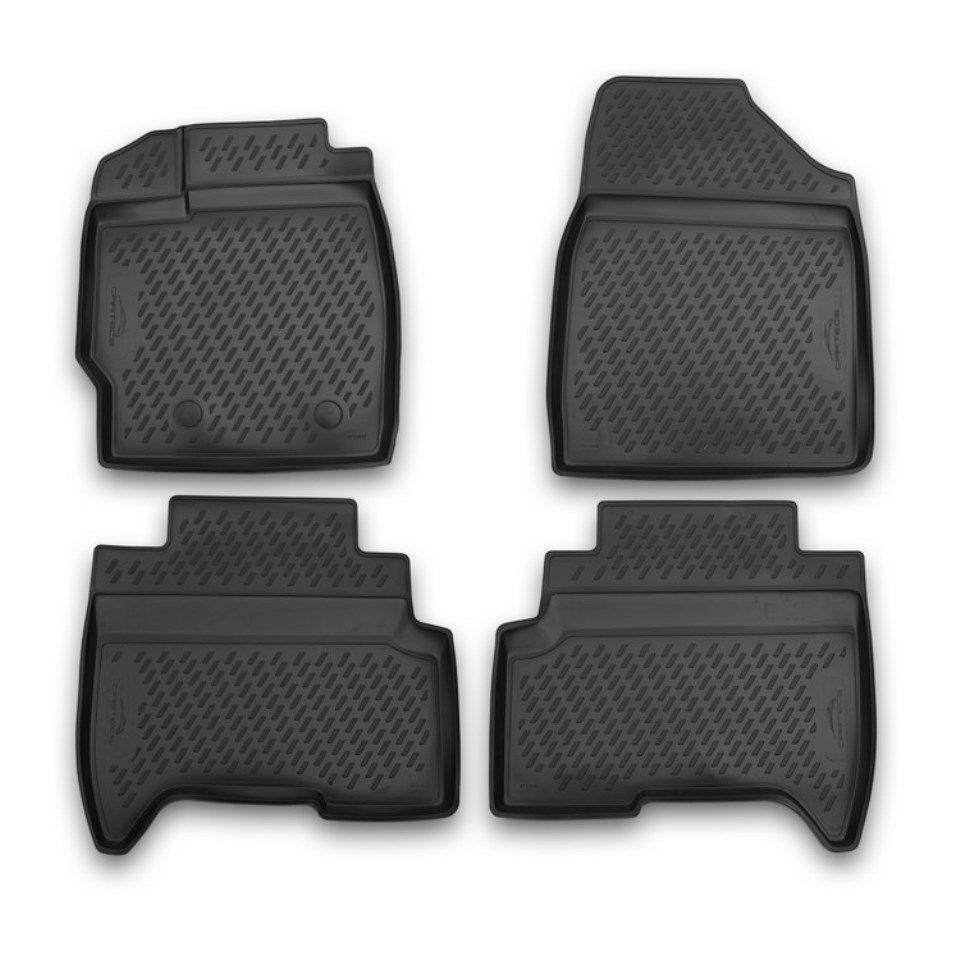 Für Lifan X50 2015-2019 3D boden matten in saloon 4 teile/satz Element CARLIF00005