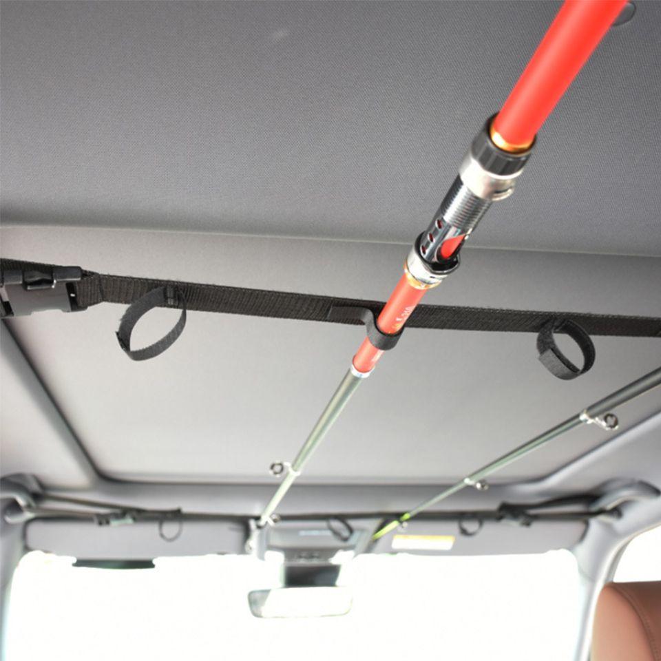2019 new 1pcs Fishing Rod Saver Vehicle Rod Carrier Band Rod Holder Belt Strap