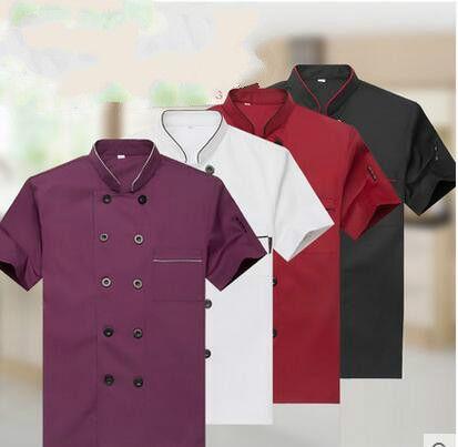 Western hôtel Chef veste Service alimentaire à manches longues Restauant Chef uniforme Double boutonnage Chef vêtements cuisine cuisinier porter 89