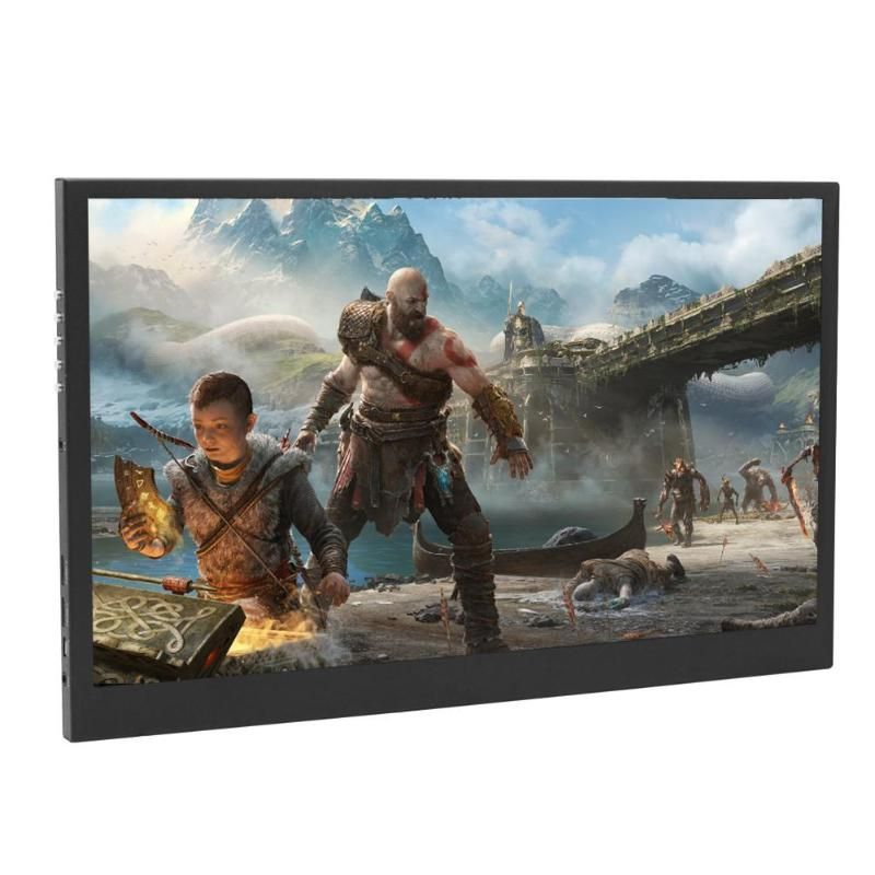 13.3 Inch HDR Portable Monitor 1920x1080P IPS LCD Screen Display LED Monitors with Type-C Cable for HDMI PS4 XBOX One game