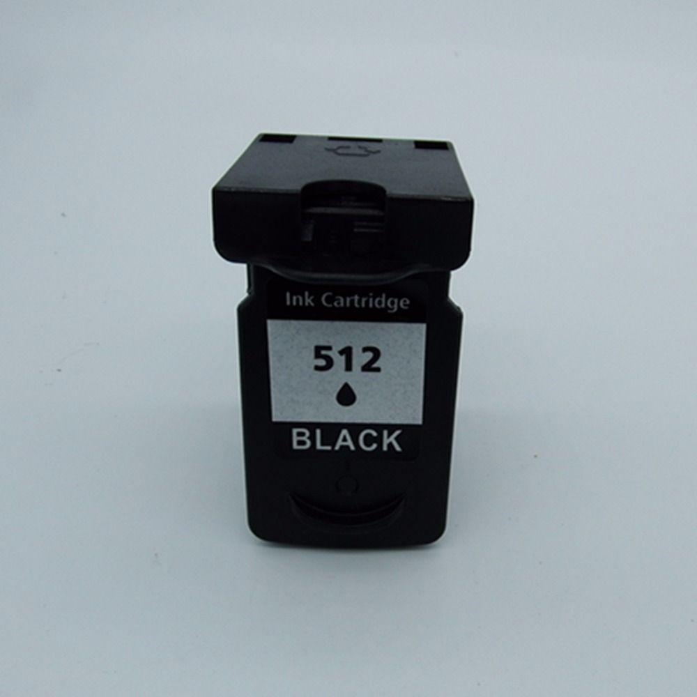 1 Black Ink Cartridges For Canon PG-512 XL PG-512XL PG 512 PG512 Pixma MX320 MX330 MX340 MX350 MX410 MX420 Inkjet Printer