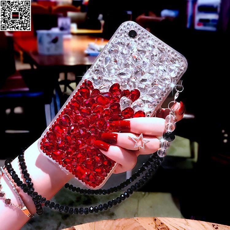 Für iPhone 8 Plus X Mädchen Jeweled Diamant Abdeckung Fall Für iPhone X 7 Plus 6 6 S 4 4 S 5 5 S Kristall Handgemachte Strass TPU Fall
