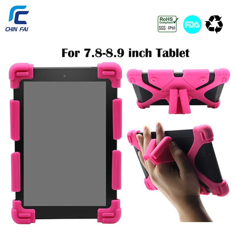 Chinfai Universel Silicone Cas pour Teclast 8.0 iPad mini 7.9 Huawei T3 8.0 Antichoc Cas pour CHUWI 8 Lenovo TAB 4 8.0 Tablet