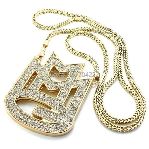 new ICED out MAYBACH MUSIC GROUP MMG <font><b>Pendant</b></font> & 36Franco chain maxi necklace hip hop necklace EMEN'S chokers necklace jewelry