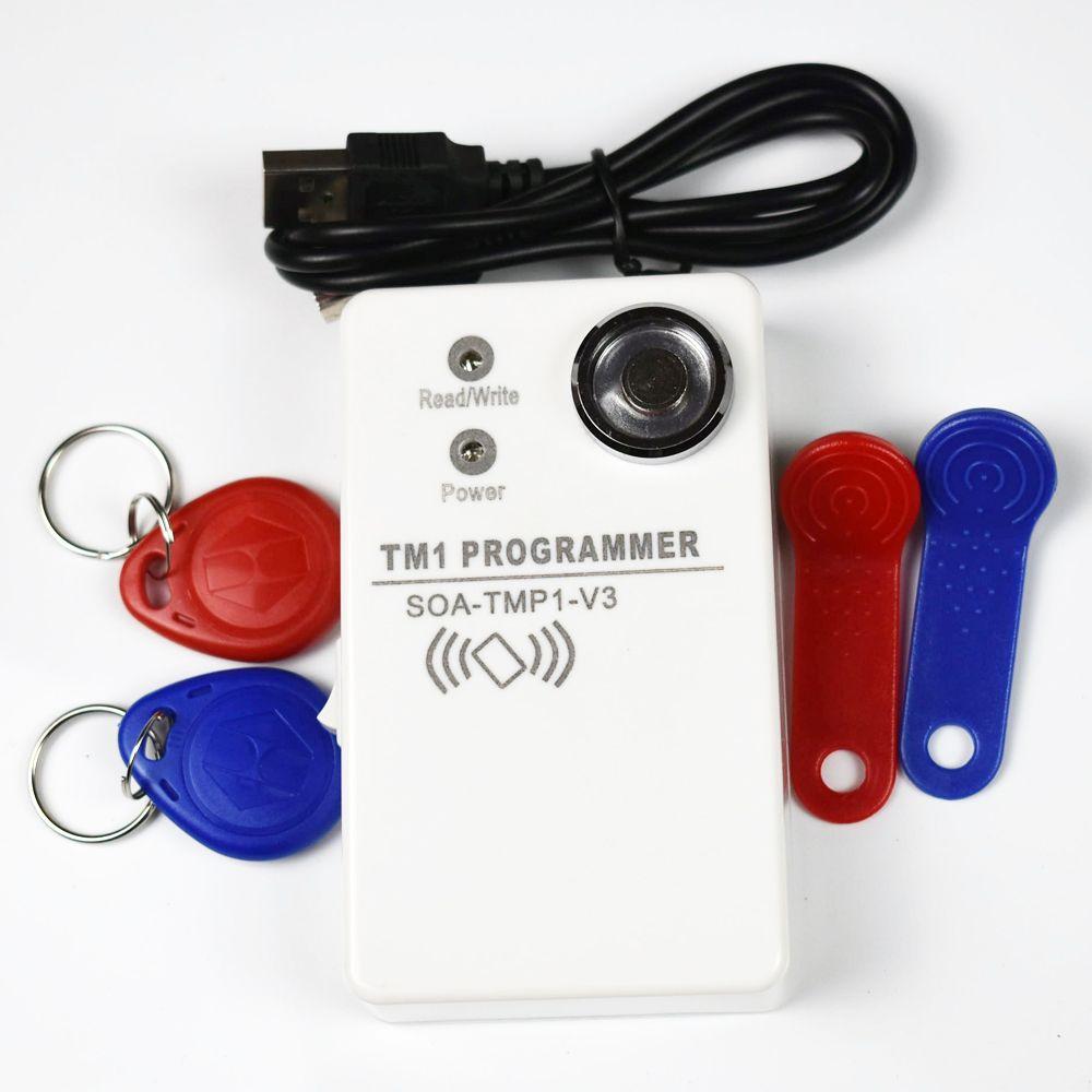 stable and sensitiy TM handheld duplicator RW1990 TM1990 TM1990B ibutton 125Khz EM4305 T5577 EM4100 rfid copier