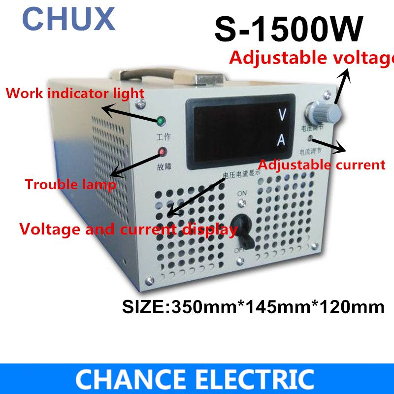 1500W switching power supply 0-150V adjustable voltage power supply 0-120A current adjustable 1500W switching power supply