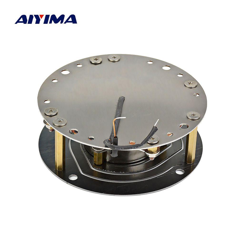 AIYIMA 3 Zoll Vibration Lautsprecher 100 W 6 Ohm High Power Fieber Hifi Mitten Bass DIY Musik Lautsprecher Woofer Vibrieren horn