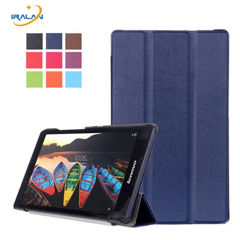 Couverture chaude pour lenovo tab 3 8. 0 modèle TB3-850F/850 M 2016 nouveau étui pour tablette pour lenovo tab 3 8 ''étui + film protecteur d'écran + stylet