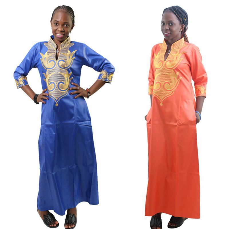 H&D 2018 All Dashiki African Cotton Dresses Top Bazin dress for women African Traditional Private African Custom Clothes dashiki