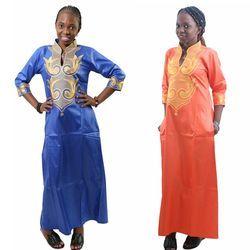 H & D 2018 Tous Africaine Dashiki Coton Robes Top Bazin robe pour femmes Africain Traditionnel Africain Privé Personnalisé Vêtements dashiki