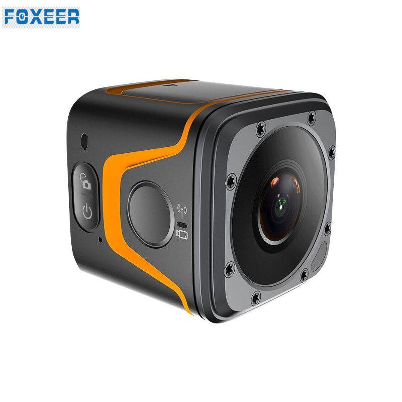 FOXEER BOX 4K CMOS FOV 155 Degree Micro Bluetooth WiFi Camera Mini FPV Sport Action Cam for RC Drone Quadcopter VS RUNCAM 3