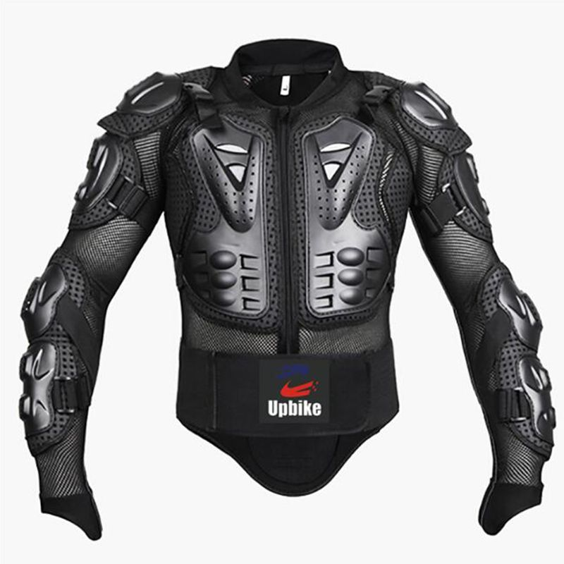 Professional Motorcycle Jacket Body Protector <font><b>Motocross</b></font> Racing Full Body Armor Spine Chest Protective Gear Motorcycle Protection
