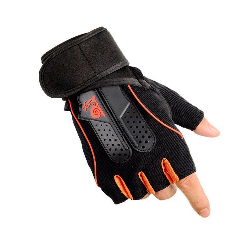 Men Women Fitness Gloves Half Finger Breathable wrist support Gym Dumbbell Weightlifting Gloves Sport Training Gloves