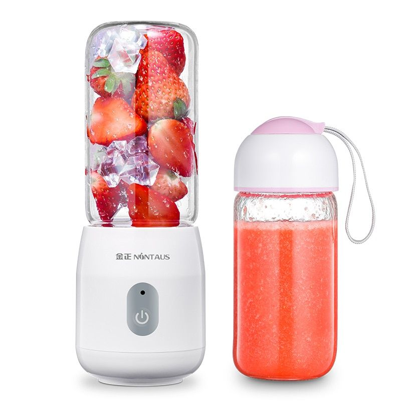 ZA07 mini Portable orange juicer electric juicer student Rechargeable blender juicer Food grade glass Easy clean with cup 200W
