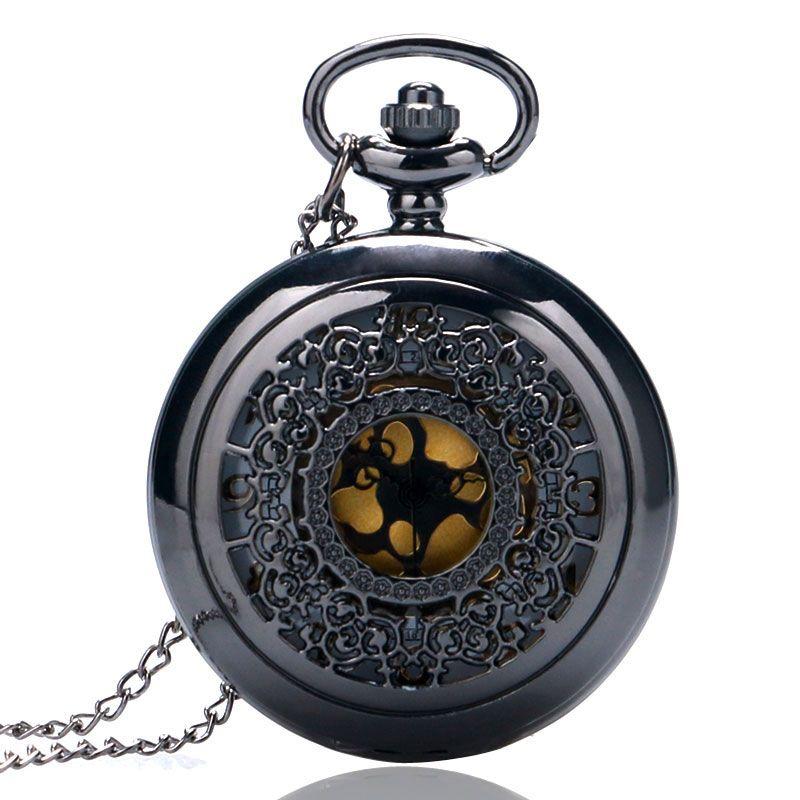 Mecánica Relojes de Bolsillo Collar Reloj de Bolsillo de Cuarzo Mini Reloj Con Cadena Para Hombres Mujeres Material de Metal Con Alta Calidad