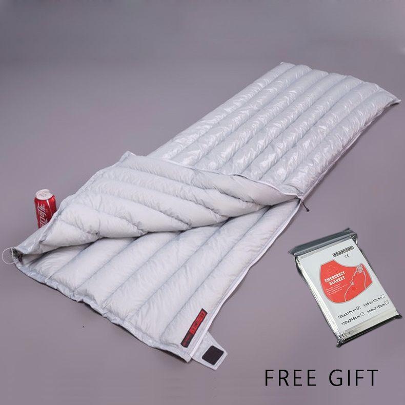 Umschlag Weiß Unten AEGISMAX 95% weiße gänsedaunen UL winter schlafsack camping Urltra-licht kompakte ultraleichtflugzeuge daunenschlafsack