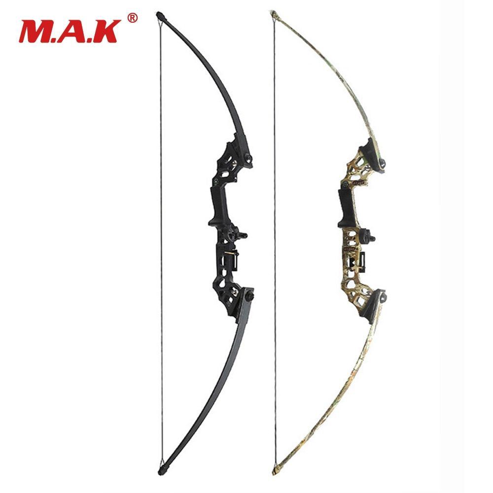 40 Lbs Straight Pull Bow Black/Camouflage for Right Handed for Compound Bow Archery Hunting Shooting Game Outdoor Sports