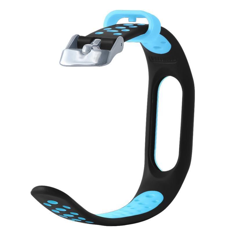 HL 2017 Neue Wasserdichte Leichte Lüften TPE Handschlaufe Armband Armband Für Xiaomi Mi Band 2 drop shipping sep27