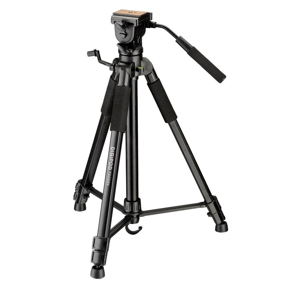 DIGIPOD 67 pouces Vidéo Trépied Kits pour Caméscope TR-688V