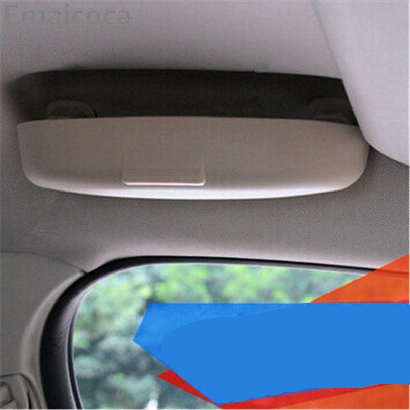 Emaicoca Car styling Glasses Box Case For Toyota Crown Prius Levin Avensis Previa Cruiser Venza Sienna Alphard ZELAS Tundra