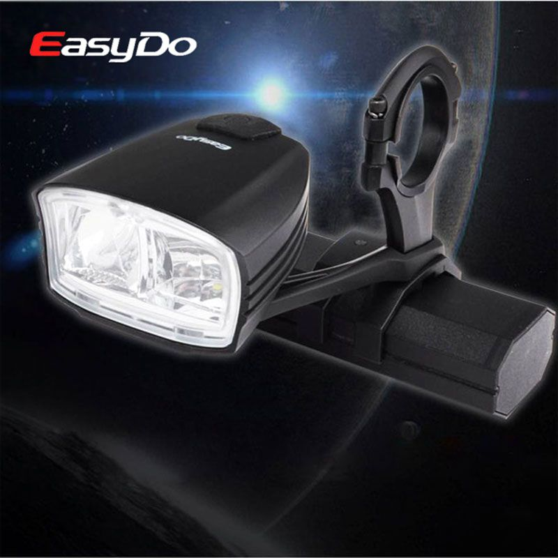 EasyDo 550LM Smart Bicycle Headlight with High/Low Beam Switch Intelligent MTB Bike USB Rechargeable Front Lamp Cycling Light