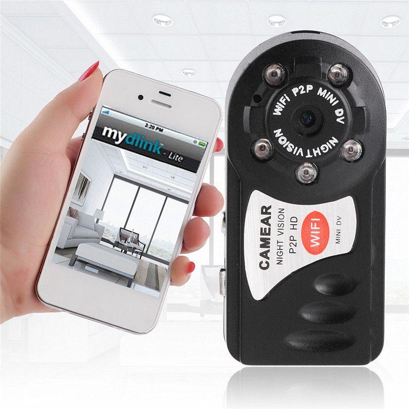 HOT P2P HD Mini Wifi DVR IP Kamera Camcorder Video Recorder Nachtsicht DV 2,4G 802.11n WIFI Antenne Bewegungserkennung
