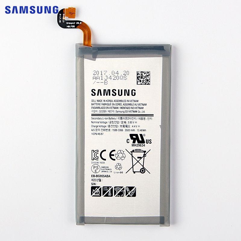 SAMSUNG Original Replacement Battery EB-BG955ABA For Samsung GALAXY S8+ G9550 GALAXY S8 Plus S8Plus SM-G9 SM-G955 G955 3500mAh