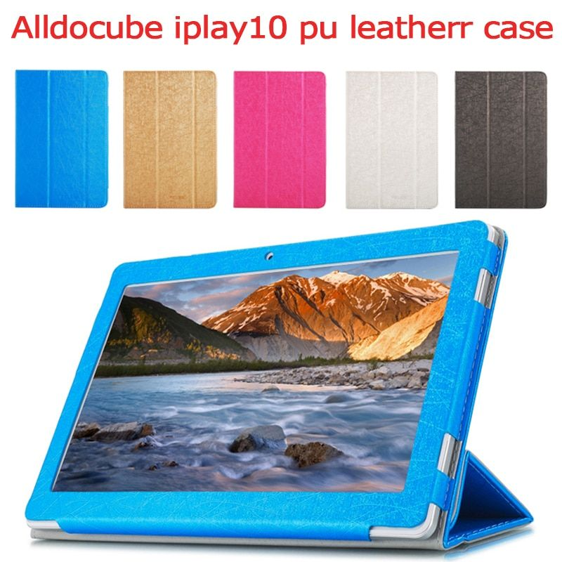 NEW ALLDOCUBE iplay10 Fashion Case For CUBE iPlay 10 Tablet, Flip Stand PU Leather Case For 10.6