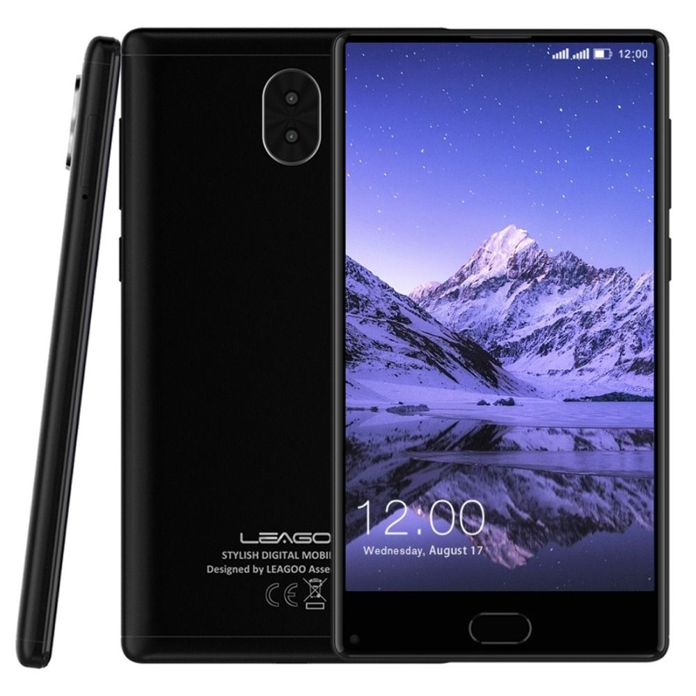 Original Leagoo Kiicaa MIX 4G LTE Mobile Phone 5.5'' Full Screen MTK6750T Octa Core Android 7.0 3GB RAM 32GB ROM Dual Back Cams