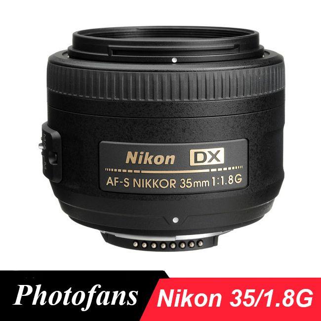 Nikon 35/1.8 G Lens Nikkor AF-S 35mm f/1.8G DX camera Lenses for Nikon D3400 D3300 D3200 D5500 D5300 D5200 D5600 D7100 D7200