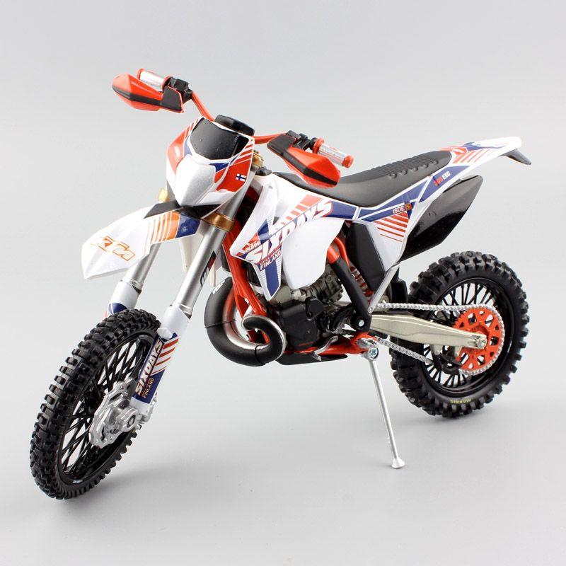 1/12 scale KTM 300 EXC Six 6 Days ISDE Italy Finland Kotka Hamina enduro Motorcycle Diecast metal model Motocross racing car toy