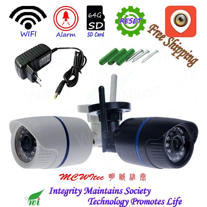 XMCSee RTSP IPC 64g SD Karte WIFI 1080 p 960 p 720 p IR Outdoor ONVIF Sicherheit Alarm Nacht p2P IP Cam Reset Drahtlose Kamera