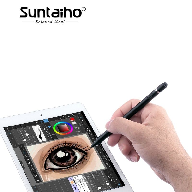 for iPad Pencil,Suntaiho High Precision Touch Screen Pen Active Stylus Pencil for Apple iPad Pro 10.5 inch 9.7 10.5 12.9 inch