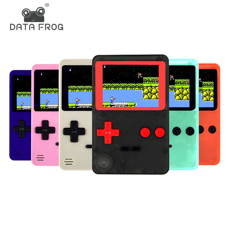 Childhood Classic Game With 200 Games 2.8 Inch 8-Bit PVP Portable Handheld Game Console Family TV <font><b>Retro</b></font> Video Consoles
