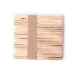 1 компл./50 шт. деревянный Воск ing Воск лопаточки языком депрессорных одноразовые бамбука Щупы для мангала комплект