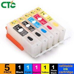 CTC refill tintenpatrone PGI-570 CLI-571 PGI570 CLI571 Compitalbe für Canon MG7751 MG7752 MG7753 TS9050 TS9055 TS8050 TS8051