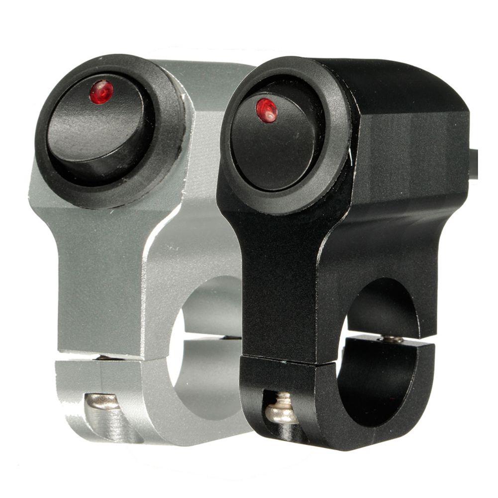 12V 10A Motorcycle Handlebar Headlight Fog Spot Light Waterproof On Off Switch