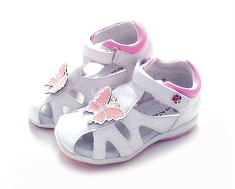 Мода 1 пара цветок летняя ортопедическая девушка Сандалии для девочек противоскользящие детей Обувь, дети Мягкая обувь