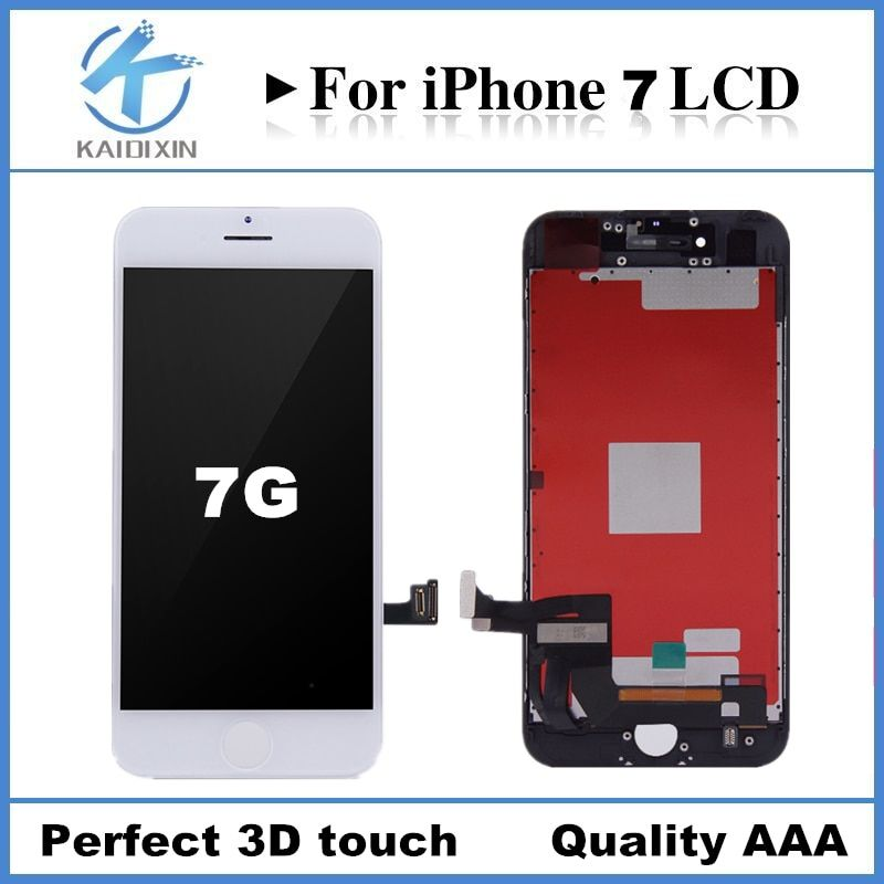 10 PCS Grade AAA High Screen For iPhone 7 LCD Display Screen Replacement Lens Pantalla with Touch Digitizer free ship