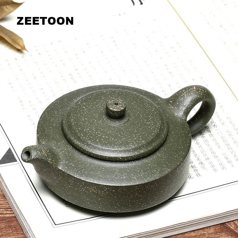 200 ml auténtico Yixing tetera Zhou pan ollas maestro hecho a mano cuidado de la salud púrpura arcilla Kung Fu té set tetera chino decoración para el hogar
