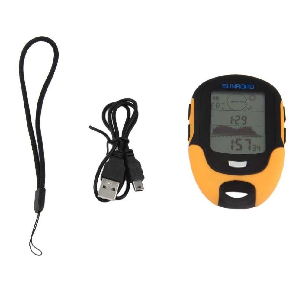 Brand New Multifunctional FR500 Portable Digital Altimeter Waterproof LCD Screen Display Outdoor Use Barometer Device Hot Sale
