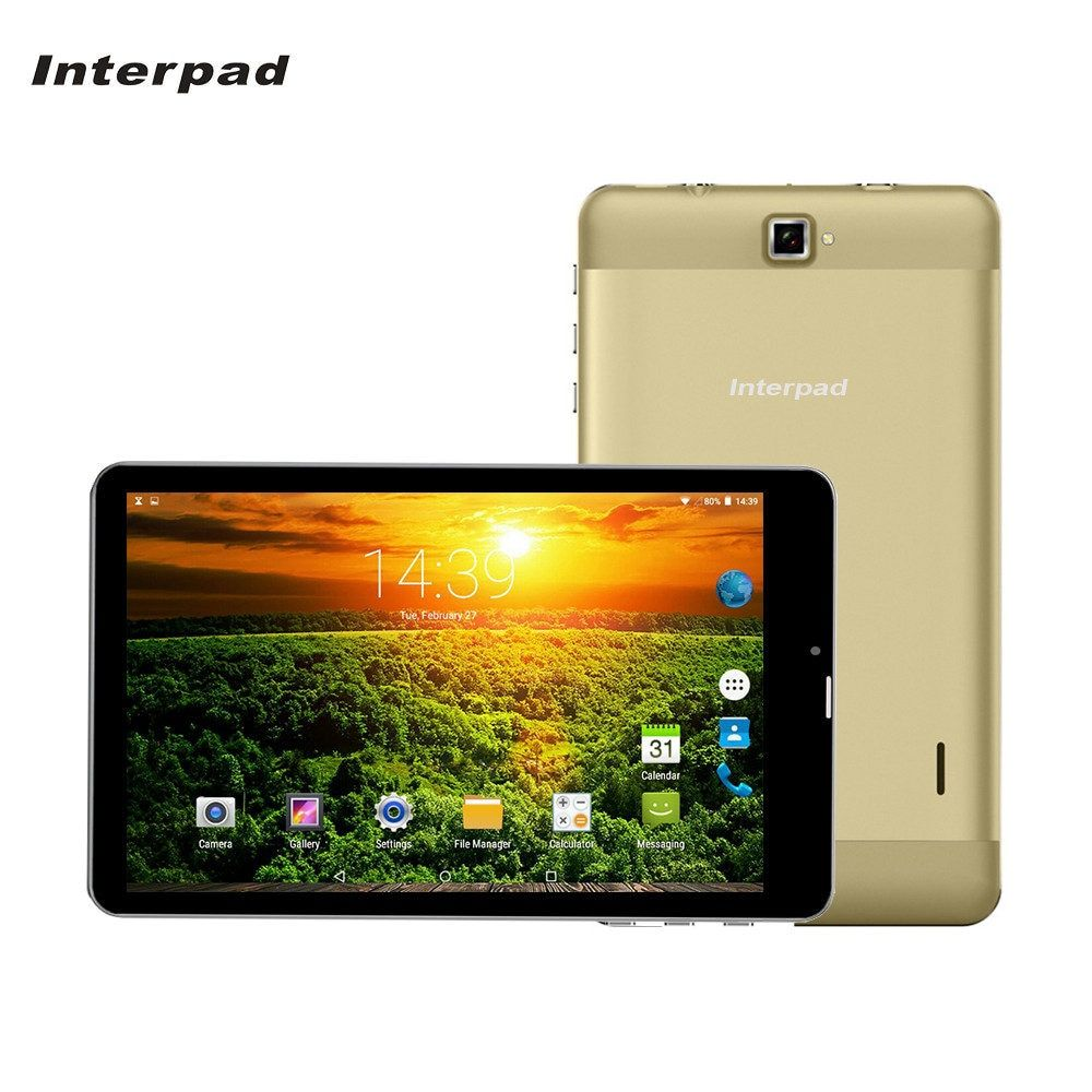 Interpad 7 inch Android Tablets MTK6582 1.5GHz IPS 2.5D curved screen 1280*800 WiFi GPS USB SIM 3G phone call tablet pc 8 9 10