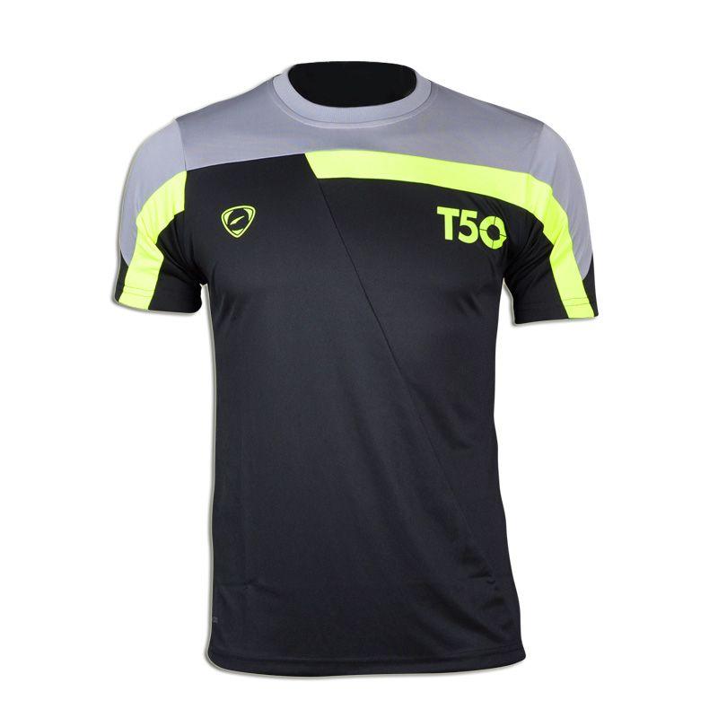 Nouveauté 2019 hommes Designer T Shirt décontracté séchage rapide Slim Fit dessus de chemise et t-shirts taille S M L XL LSL135 (veuillez choisir la taille USA)