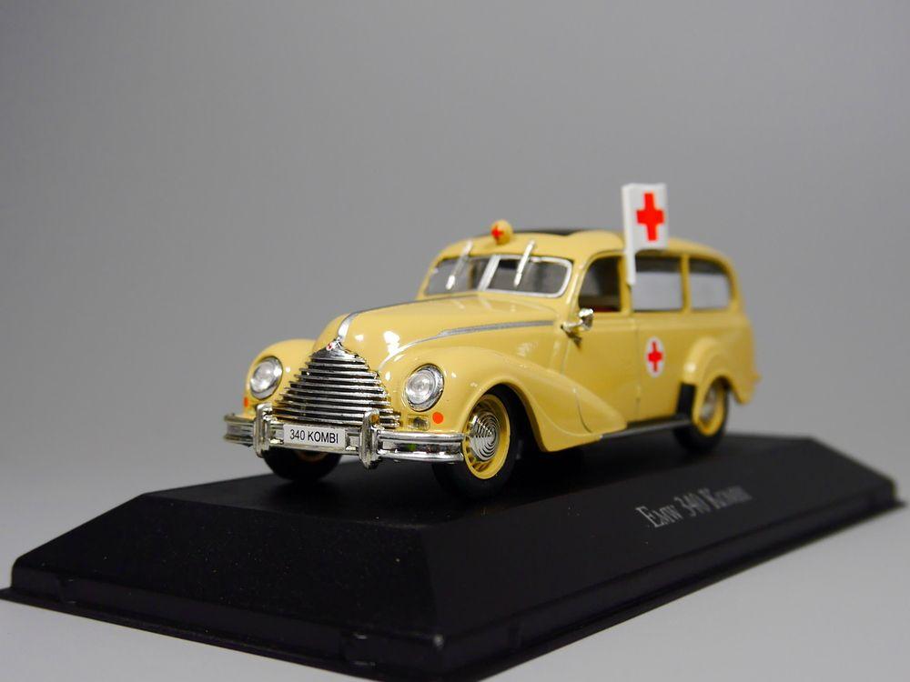 Ambulance Collection Atlas 1:43 Emw 340 Kombi Diecast model car